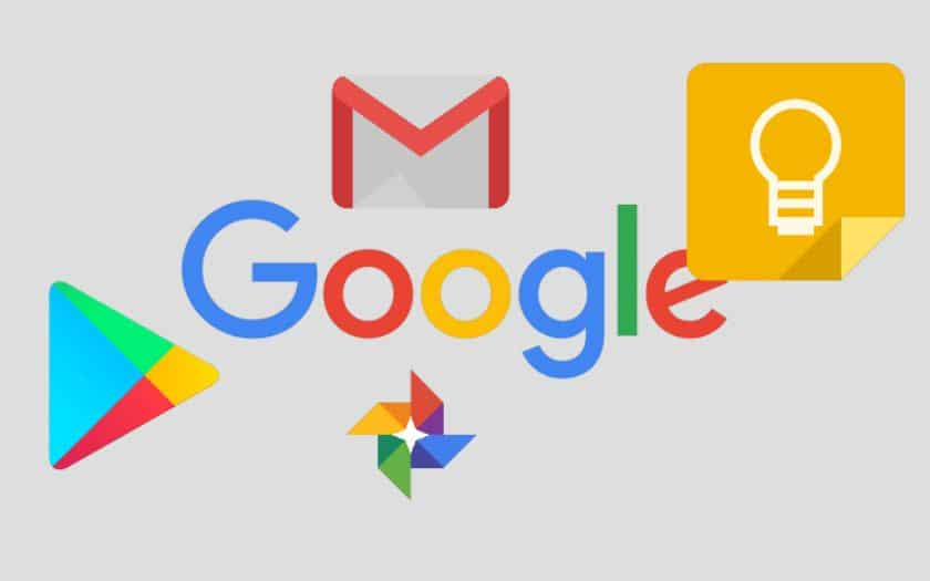 google mises a jour keep gmail play store