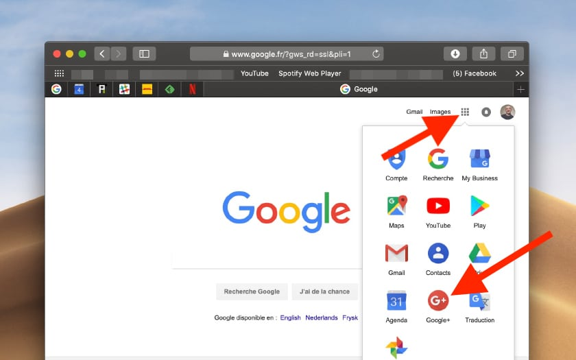 google plus supprimer compte