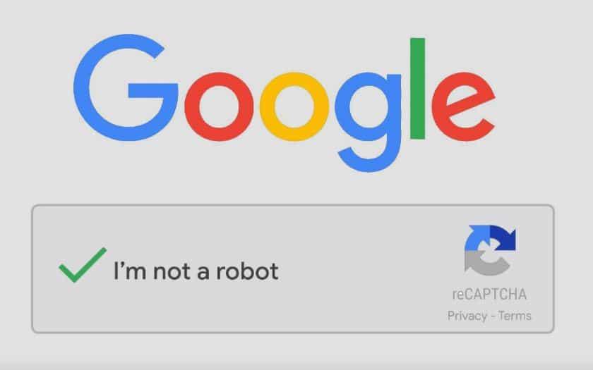 google lance recaptcha v3 cases je suis pas robot images cocher fini