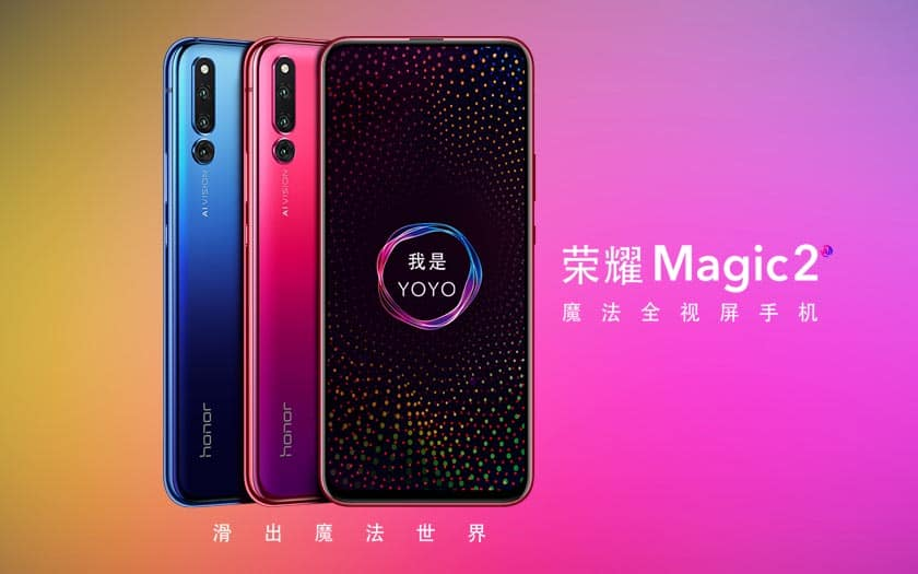 honor magic 2 france