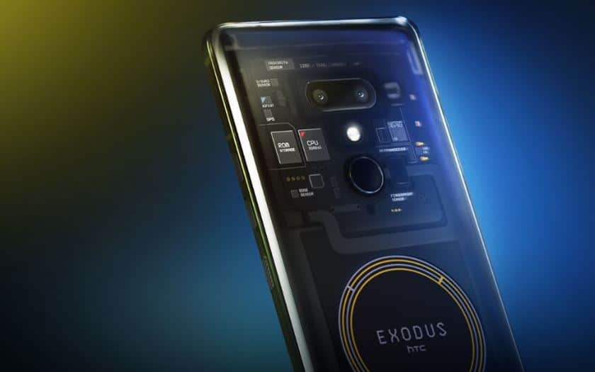 htc exodus officiel blockchain