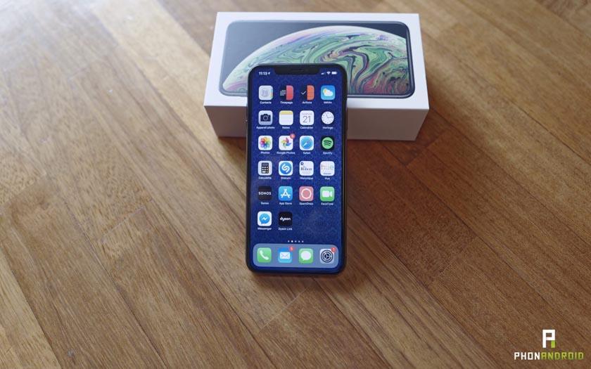 iphone xs max bug
