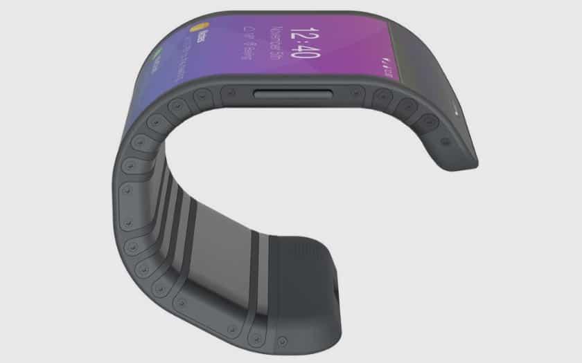 lenovo smartphone ecran pliable