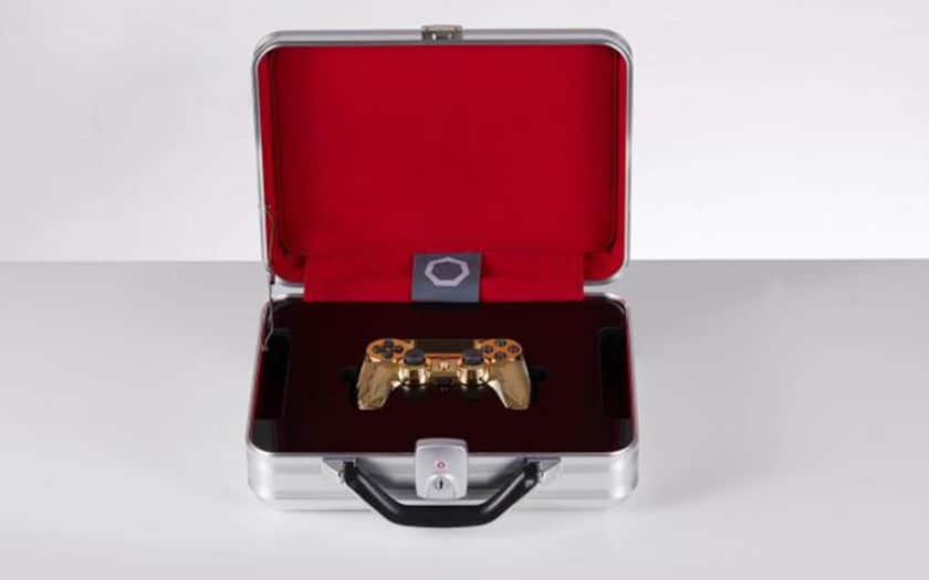 manette PS4 or diamants