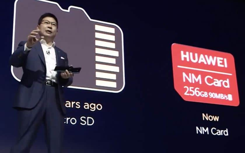 mate 20 huawei nm card carte memoire