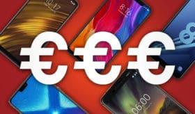 meilleurs smartphones 300 euros