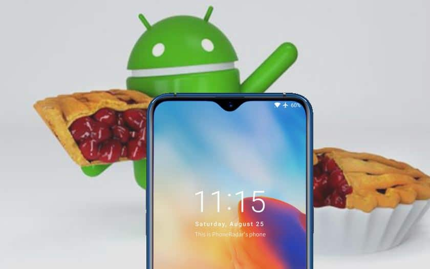 oneplus 6t android 9 pie lancement