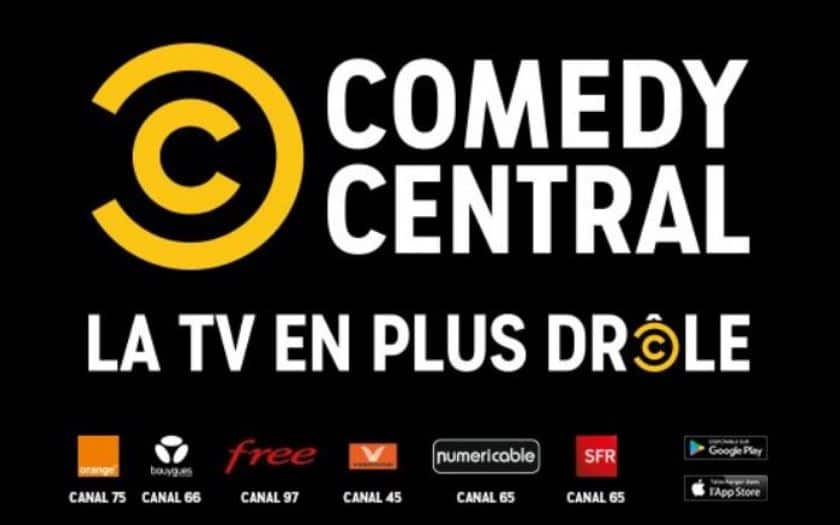 orange free sfr bouygues chaine tv comedy central