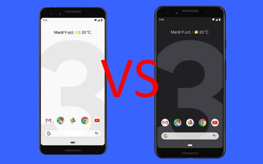 pixel 3 pixel 3 xl differences