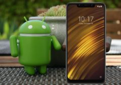 pocophone f1 mise a jour android q 1