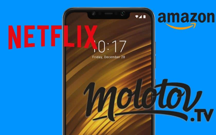 pocophone f1 videos hd amazon netflix canal+ molotov