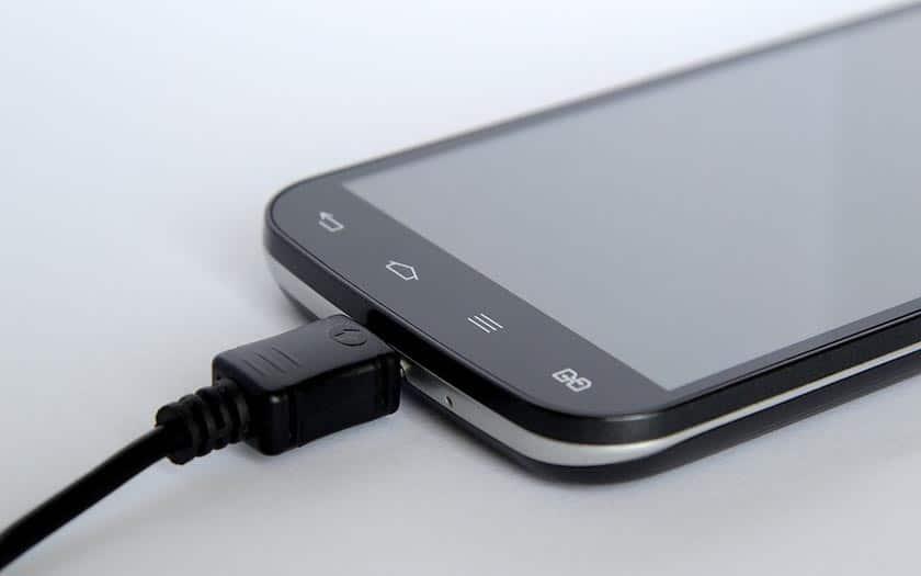 recharger smartphone