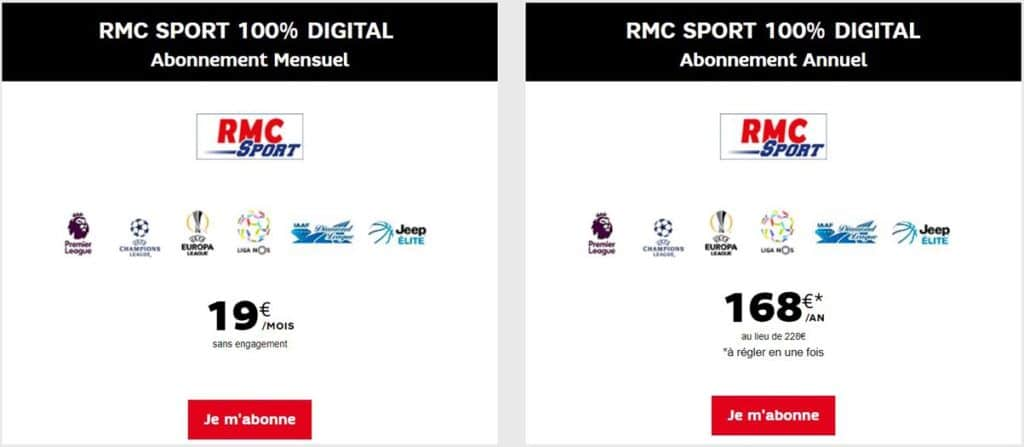 rmc sport digital