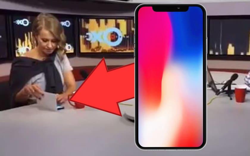 samsung ambassadrice russe iPhone X