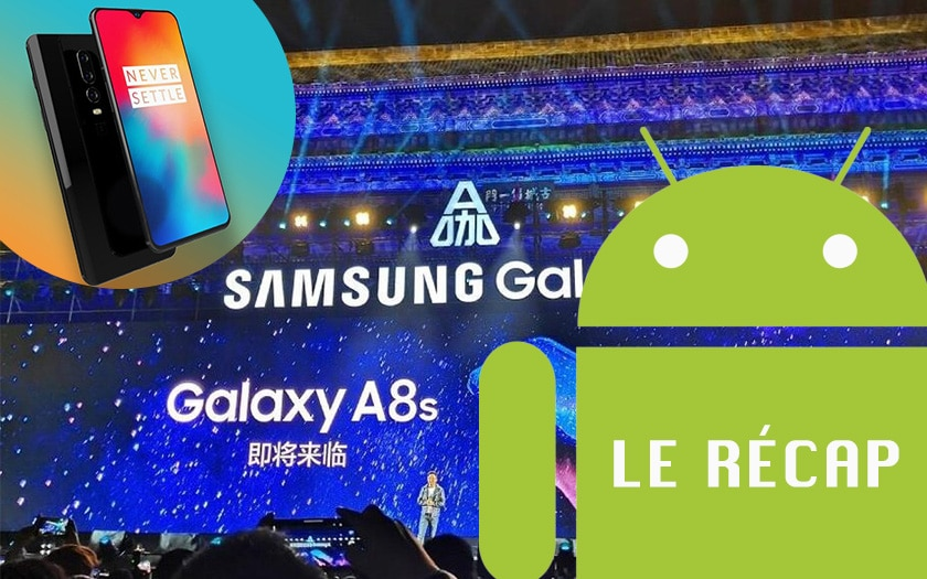 samsung galaxy A8s android applications oneplus6T galaxy note 9