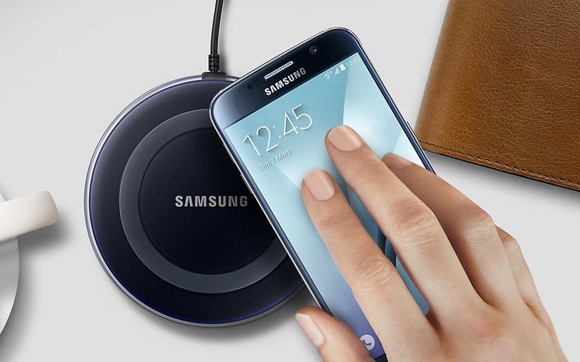 samsung recharge sans fil