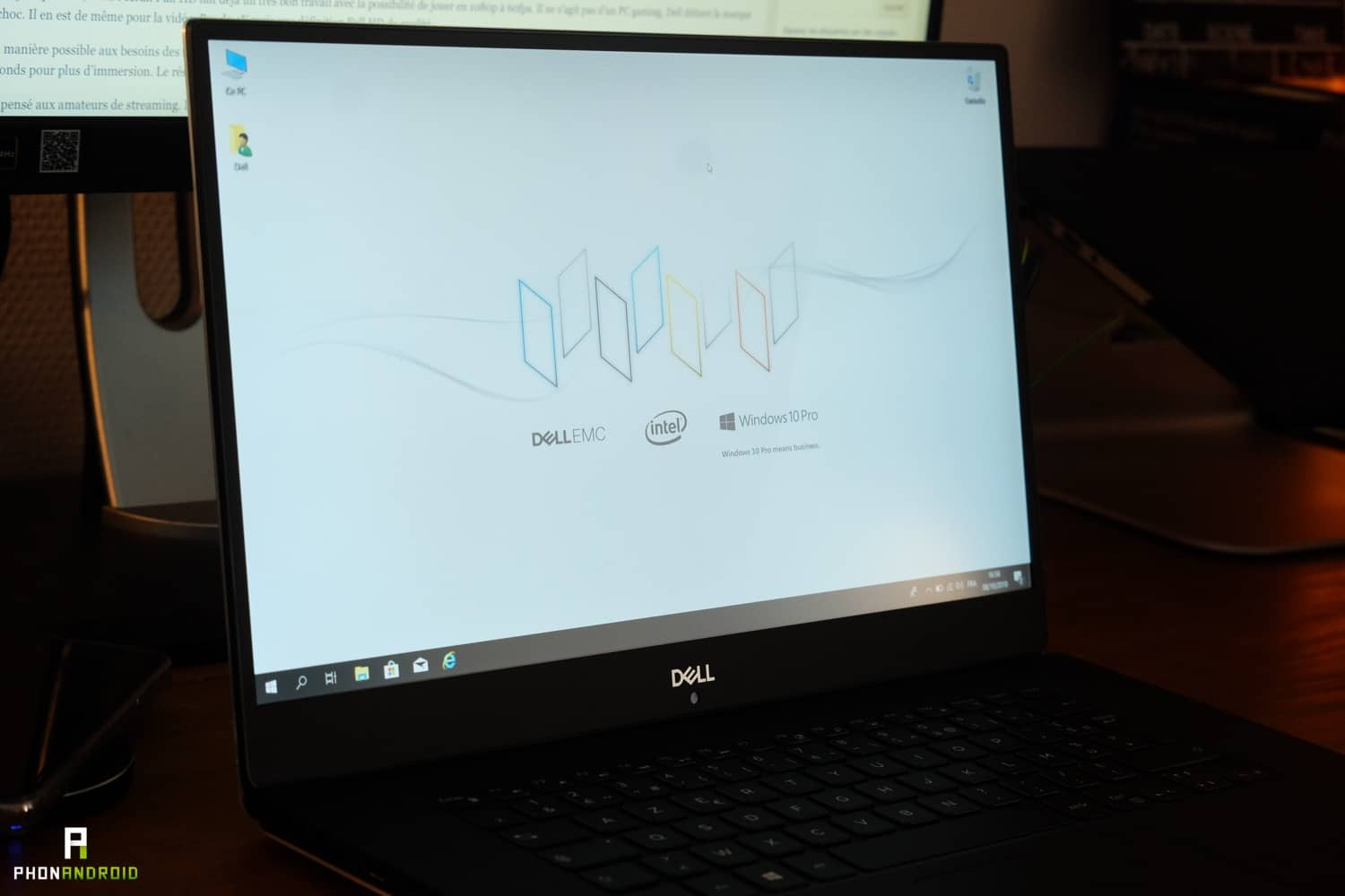 test dell xps 15 2018 ecran