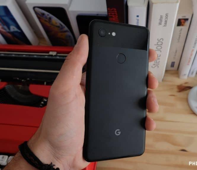 test google pixel 3 xl