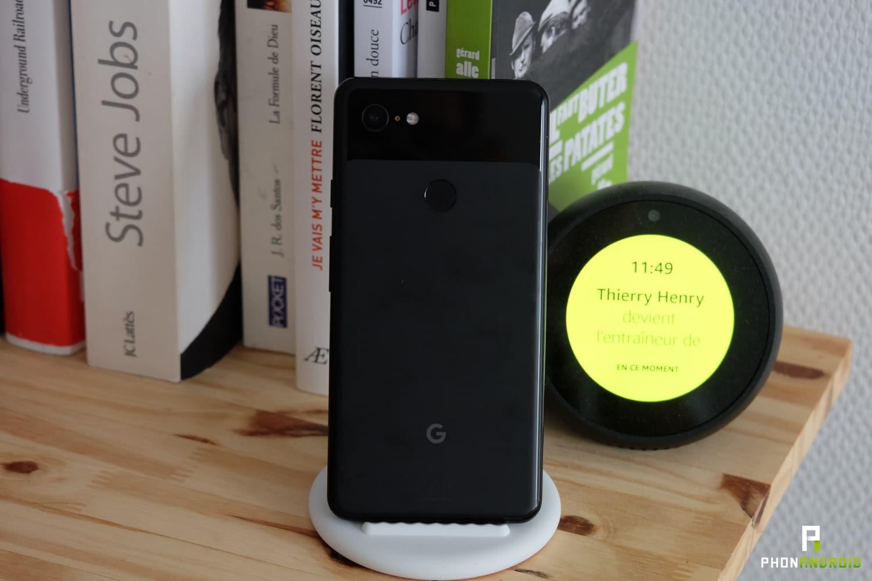 test google pixel 3 xl design