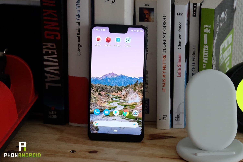 test google pixel 3 xl ecran