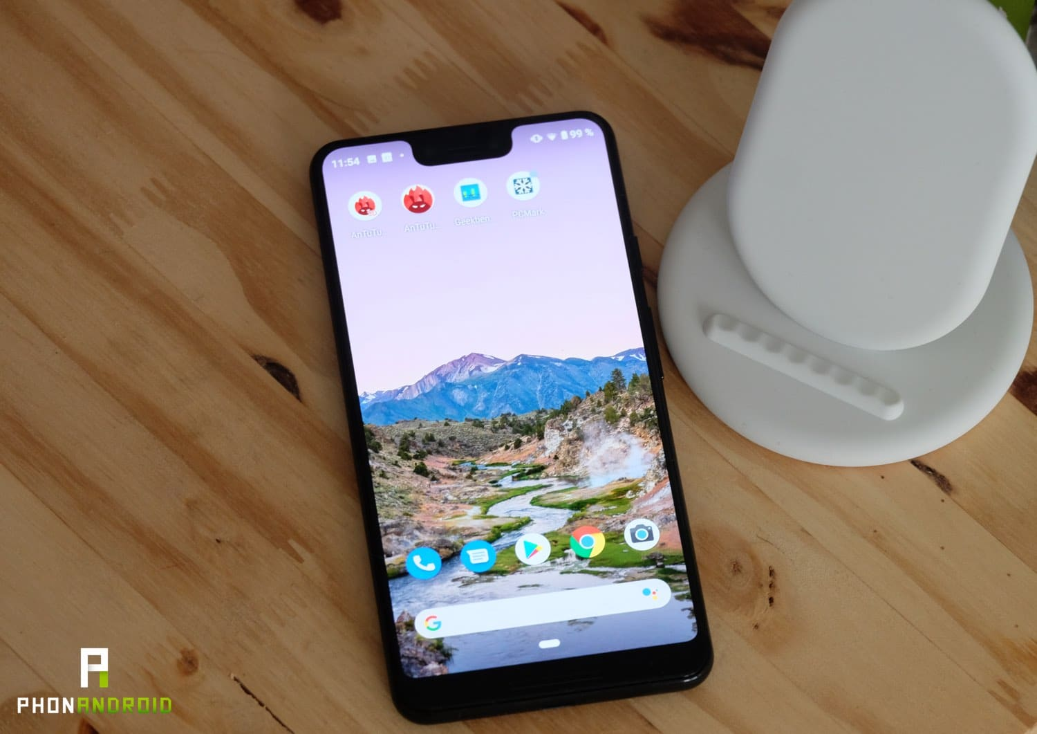 test google pixel 3 xl fiche technique