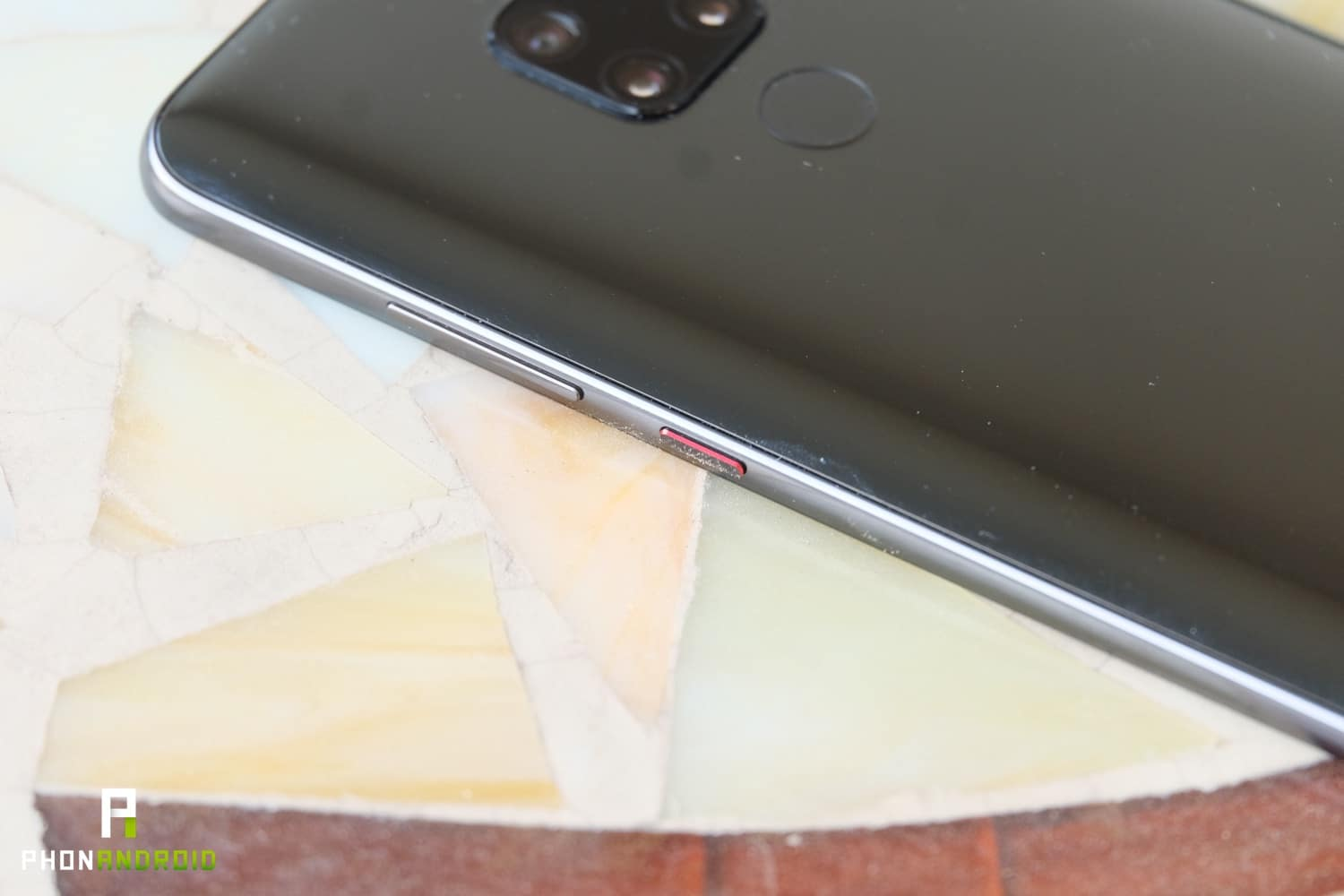 test huawei mate 20 finitions