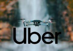 uber livraison repas drone 1