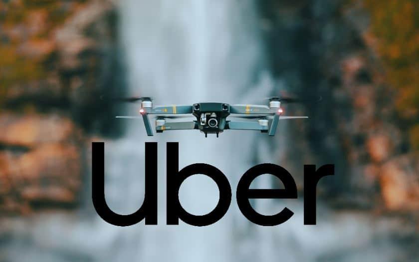 uber livraison repas drone
