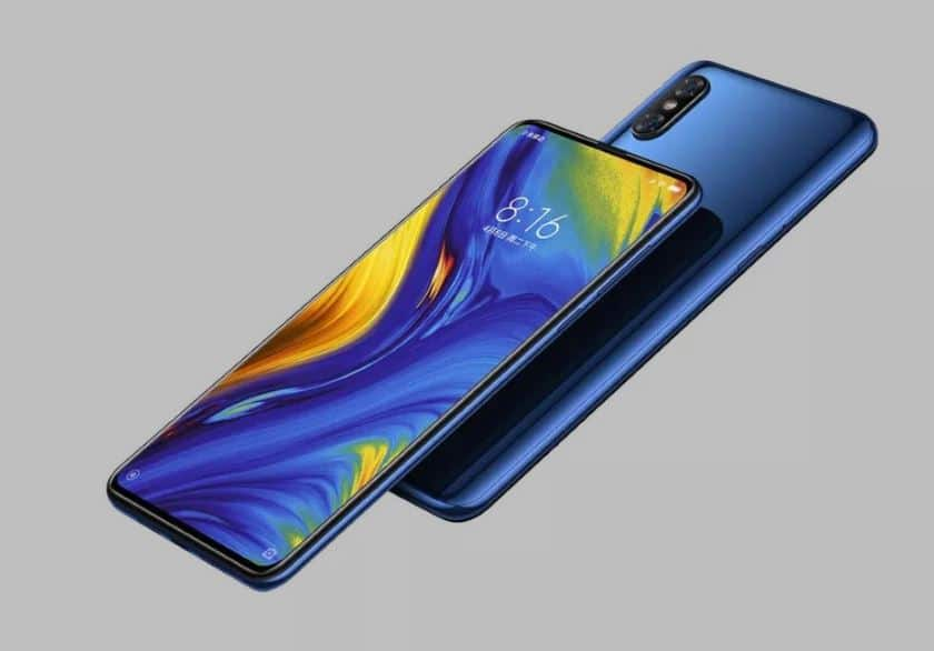 xiaomi mi mix 3 officiel