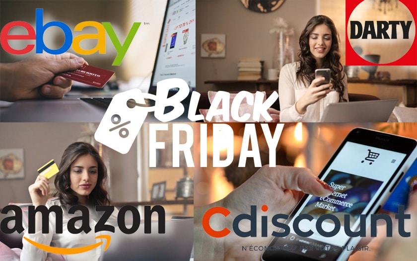 Black Friday Amazon Cdiscount eBay top des offres de mardi
