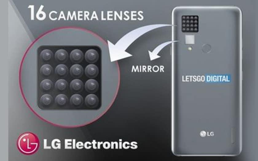 LG envisage lancer smartphone 16 capteurs photo