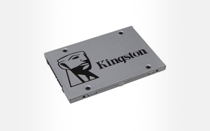 SSD interne Kingston SSDNow UV400 - 480 Go