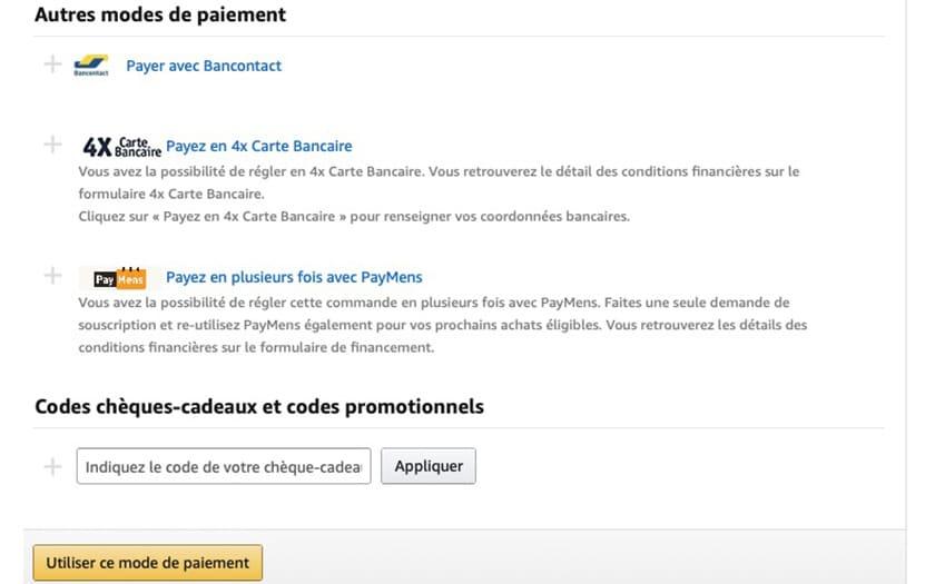 6da2097cd25a1 Amazon : avec PayMens, payez votre commande en 24 fois - PhonAndroid.com