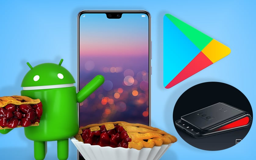 android pie debarque huawei galaxy x devoile google offre credits play store recap