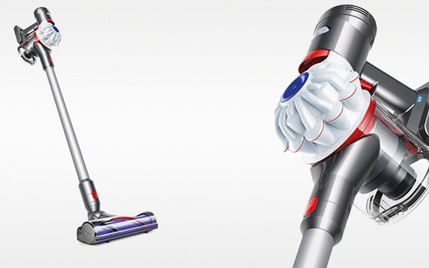black friday week darty aspirateur balai dyson v7 cordfree 249 99 phonandroid. Black Bedroom Furniture Sets. Home Design Ideas