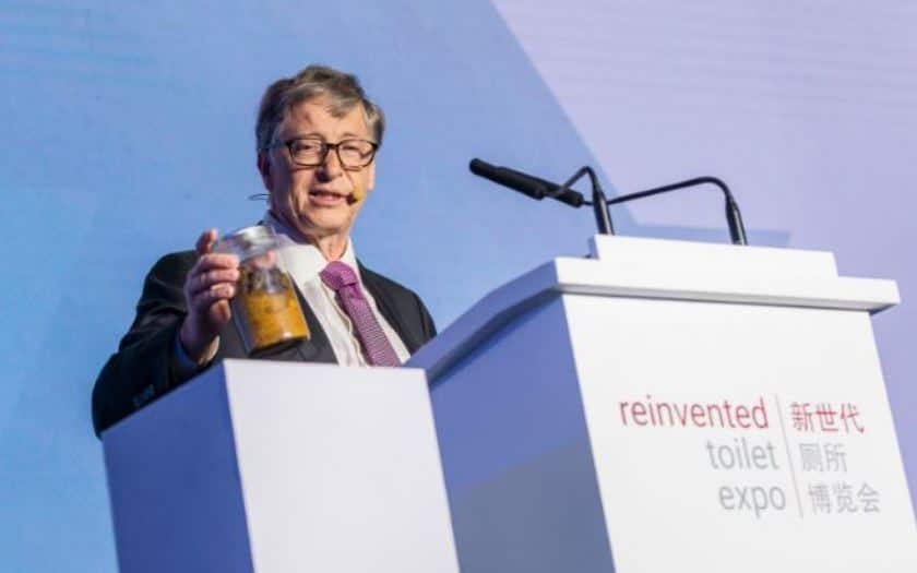 bill gates excrements