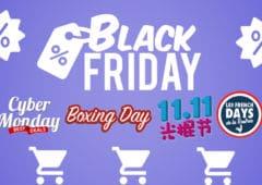 black friday et autres evenements shopping dans la monde