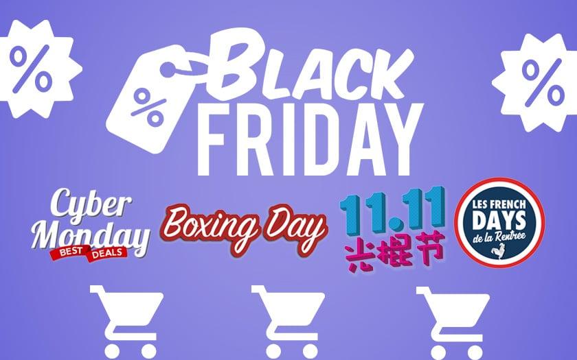 black friday et autres gros événements shopping de l'année