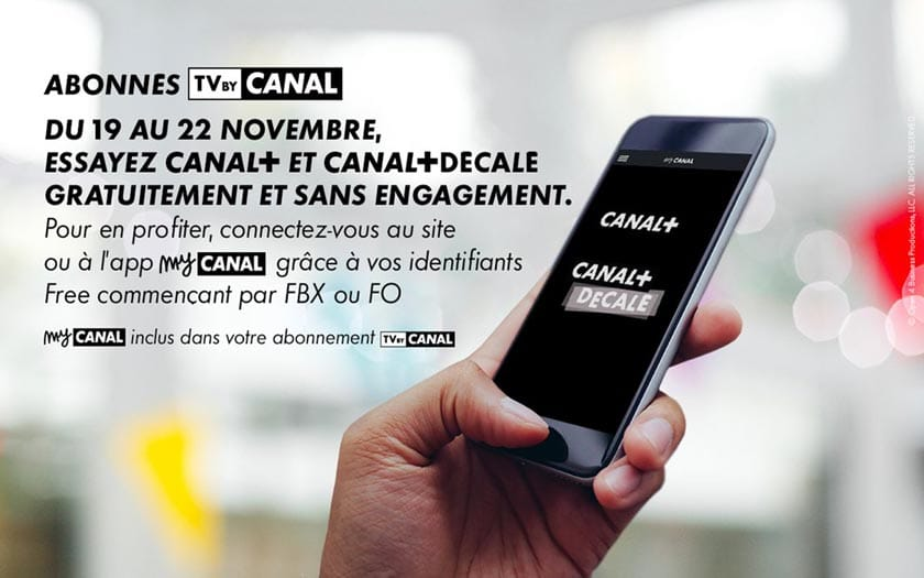 Freebox Tv By Canal Les Chaines Canal Et Canal Decale