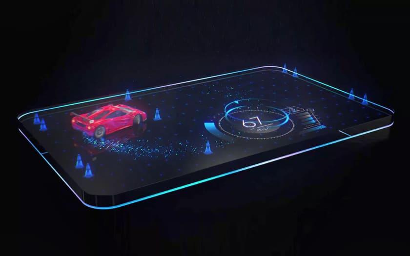 Samsung veut améliorer les écrans holographiques avec un brevet