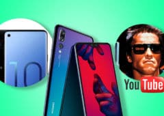 huawei P20 mise jour android pie galaxy S10 ecran infinity O youtube films