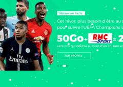 forfait mobile sfr red 50 Go + RMC sport