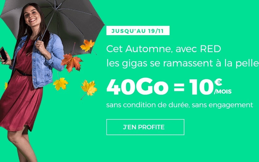 Bon Plan Le Forfait Mobile Red Sfr 40 Go A 10 Mois A Vie