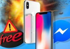 free encore panne iphonex explose nouvelle interface facebook messenger