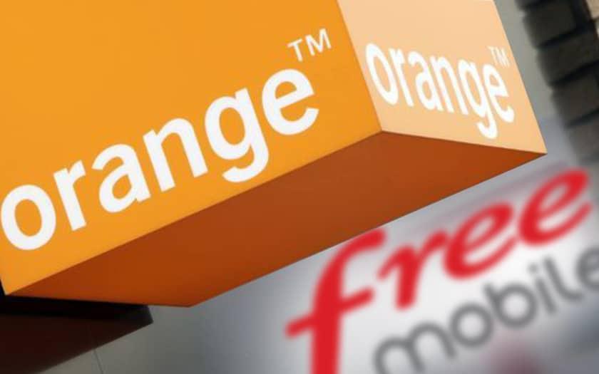le réseau orange de moins en moins utile pour les abonnés free mobile