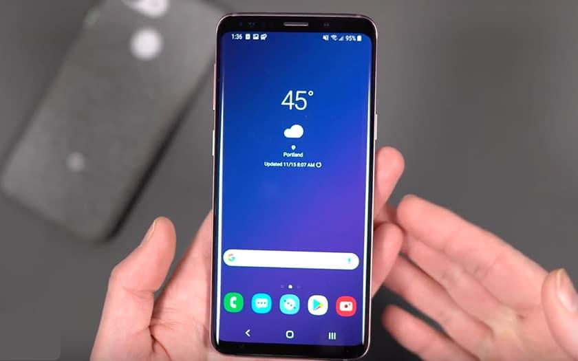 galaxy S9 samsung one UI