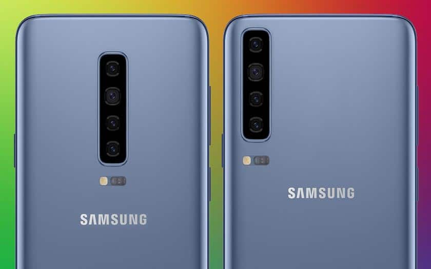galaxy s10 5g avec 6 capteurs photo