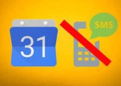 google agenda sms