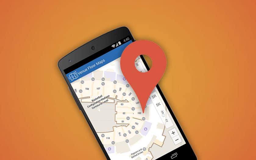 google localiser mon appareil fonctionne désormais à l'intérieur des bâtiments