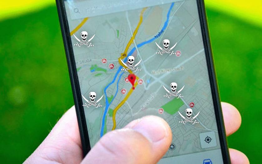 google maps : des pirates se font passer pour des banques